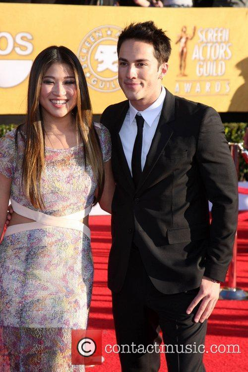 Jenna Ushkowitz and guest The 18th Annual Screen...