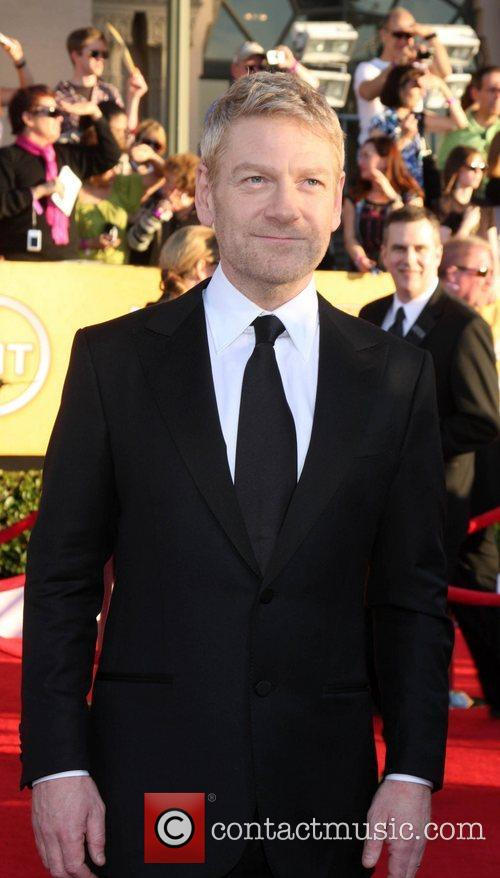 Kenneth Branagh The 18th Annual Screen Actors Guild...