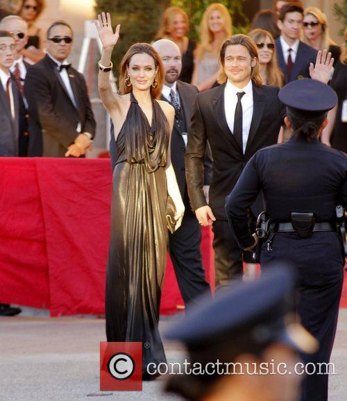 Angelina Jolie and Brad Pitt 18th Annual Screen...