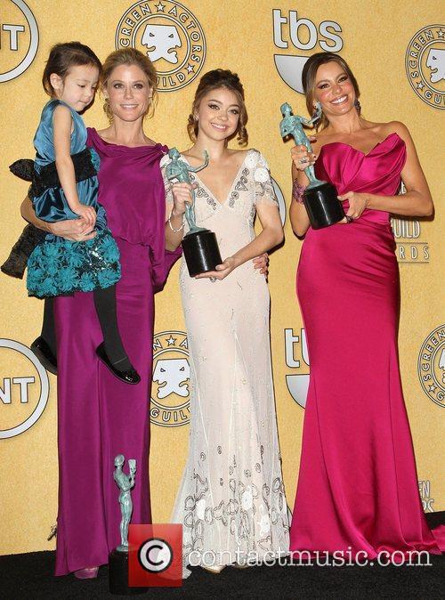 Julie Bowen, Sarah Hyland, Sofia Vergara and Screen Actors Guild 3