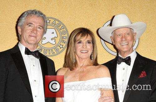 Patrick Duffy, Linda Gray, Larry Hagman,  at...