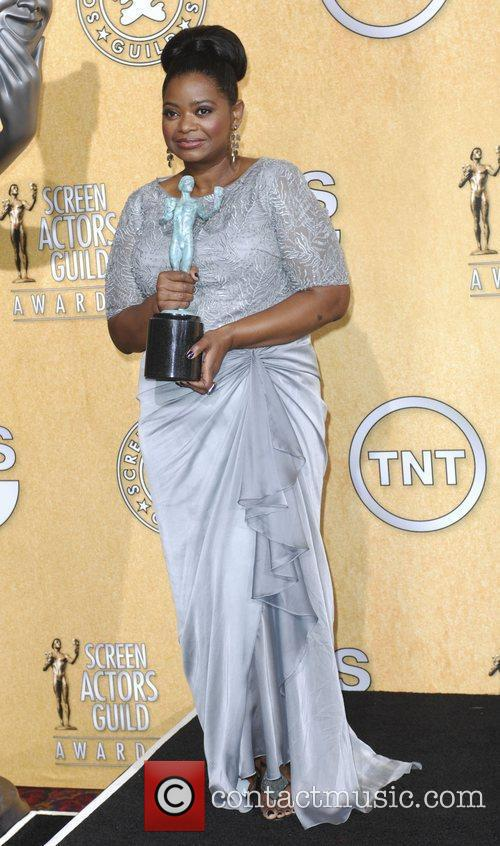 Octavia Spencer and Screen Actors Guild 9
