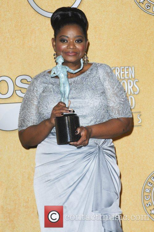 Octavia Spencer and Screen Actors Guild 10
