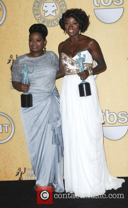 Octavia Spencer, Viola Davis  18th Annual Screen...
