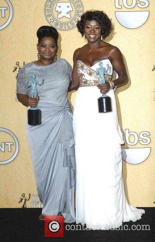 Octavia Spencer, Viola Davis and Screen Actors Guild 7