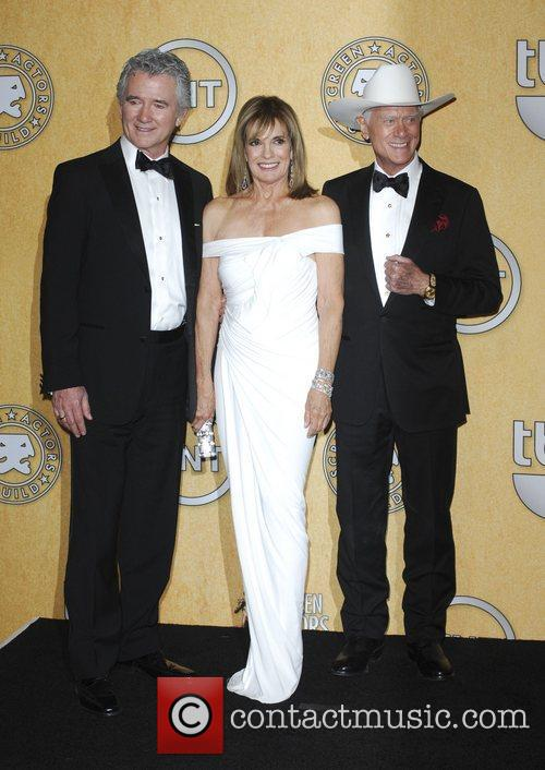 Patrick Duffy, Linda Gray, Larry Hagman  18th...
