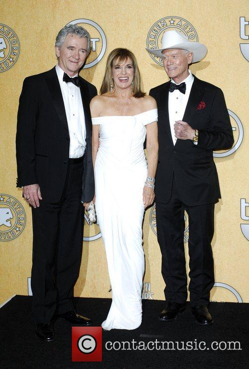 Patrick Duffy, Larry Hagman, Linda Gray and Screen Actors Guild 5