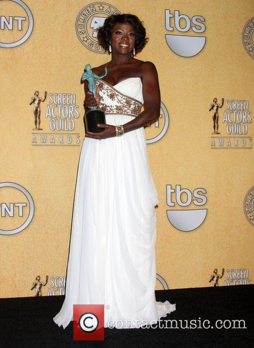 Viola Davis and Screen Actors Guild 4