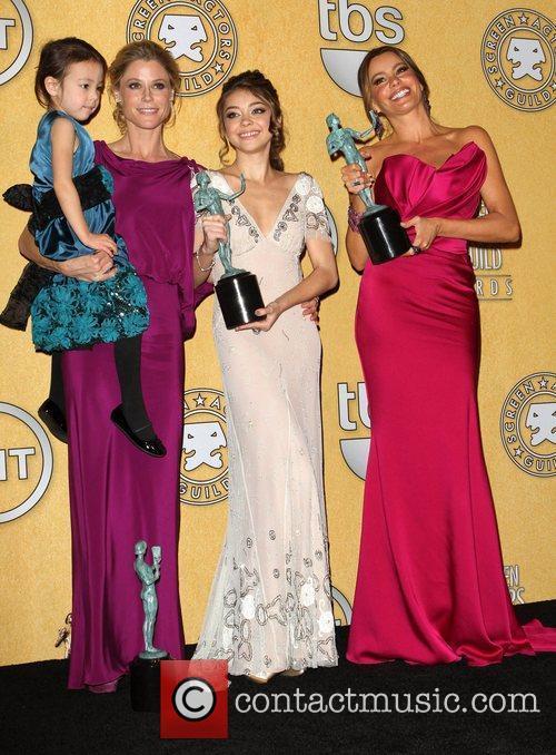 Julie Bowen, Sarah Hyland and Screen Actors Guild 4