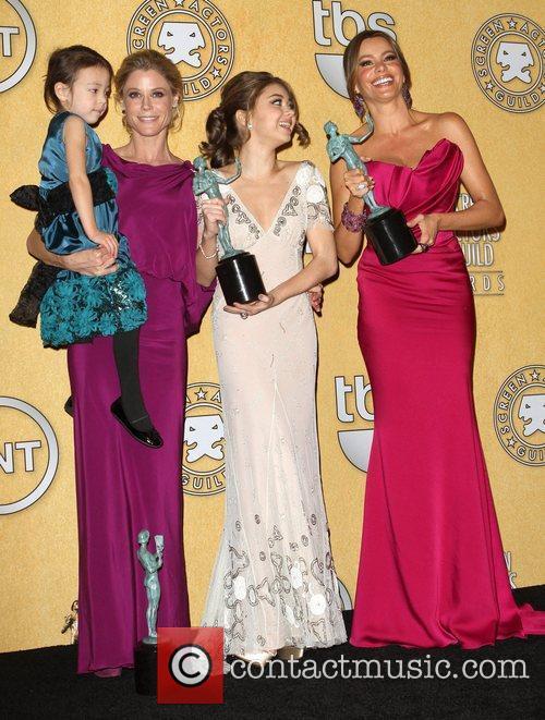 Julie Bowen, Sarah Hyland and Screen Actors Guild 5