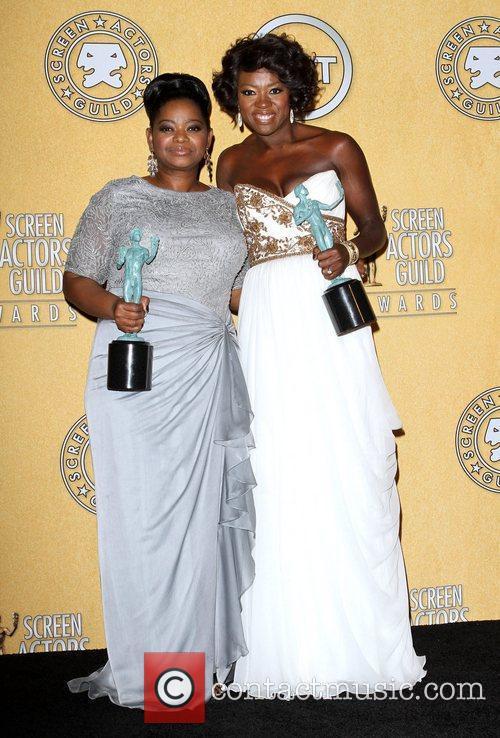 Octavia Spencer, Viola Davis and Screen Actors Guild 4