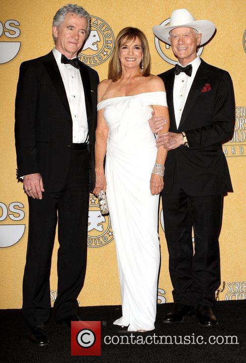 Patrick Duffy, Linda Gray and Larry Hagman 18th...