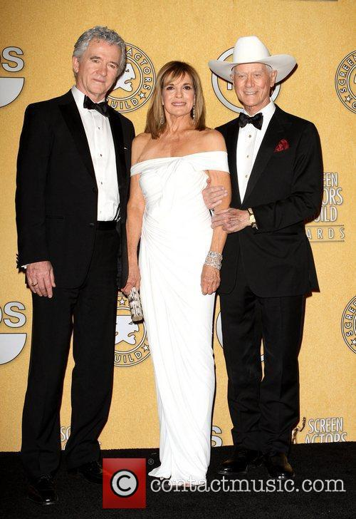 Patrick Duffy, Larry Hagman, Linda Gray, Screen Actors Guild