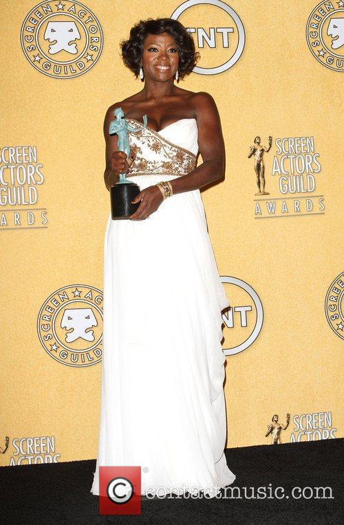 Viola Davis and Screen Actors Guild 1