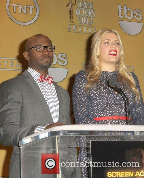Taye Diggs and Busy Phillips 2