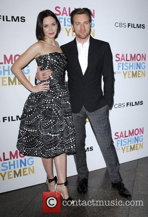 Emily Blunt and Ewan McGregor  Los Angeles...