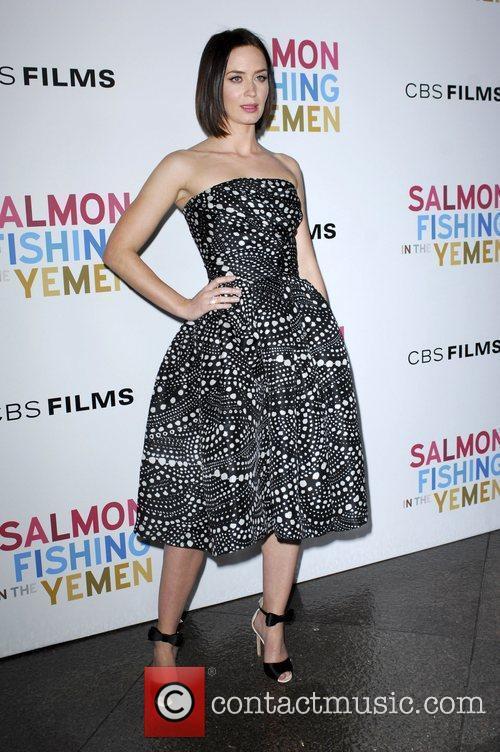 Emily Blunt  Los Angeles Premiere of 'Salmon...