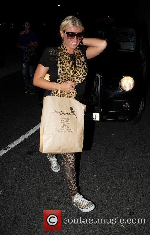 Billie Faiers out and about in Liverpool Liverpool,...