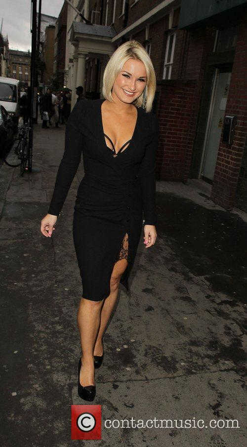 Sam Faiers Book launch party at Zenna Bar,...