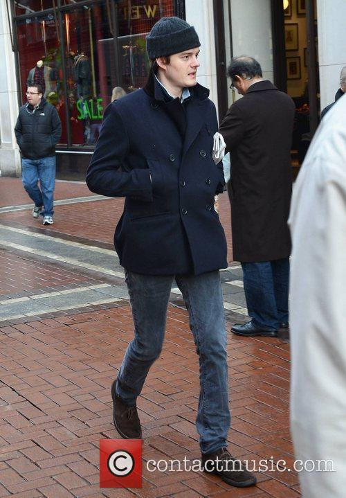 sam riley seen walking down grafton street 3698257