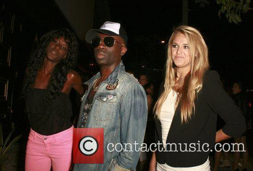 Zeta Morrison, Sam Sarpong and Olivia Flowers at...