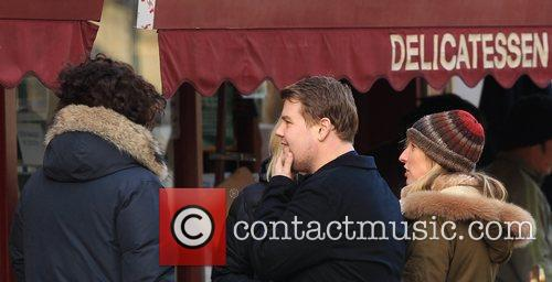 Sam Taylor-wood, Aaron Johnson and James Corden 6