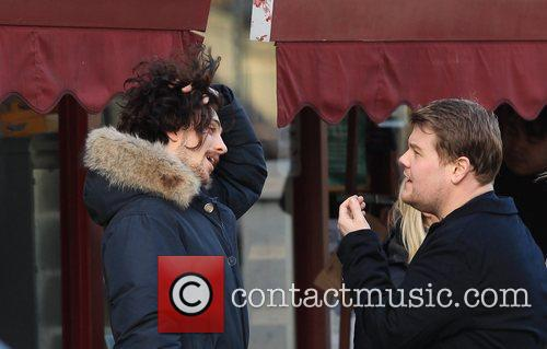 Sam Taylor-Wood, Aaron Johnson and James Corden 4