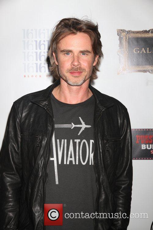 Sam Trammell celebrates 'True Blood' Season 5 premiere...
