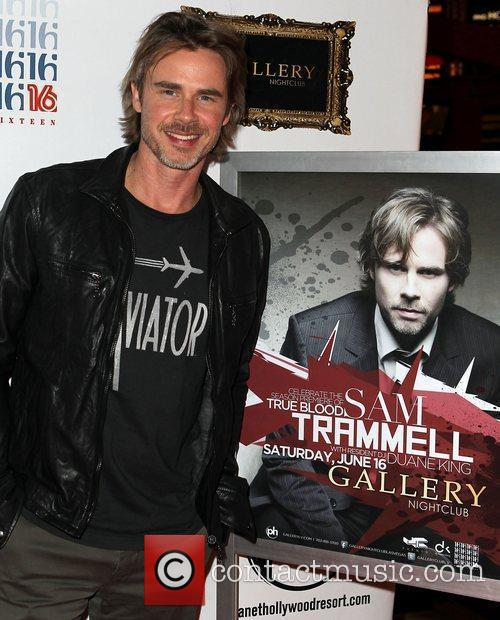 Sam Trammell Sam Trammell celebrates 'True Blood' Season...