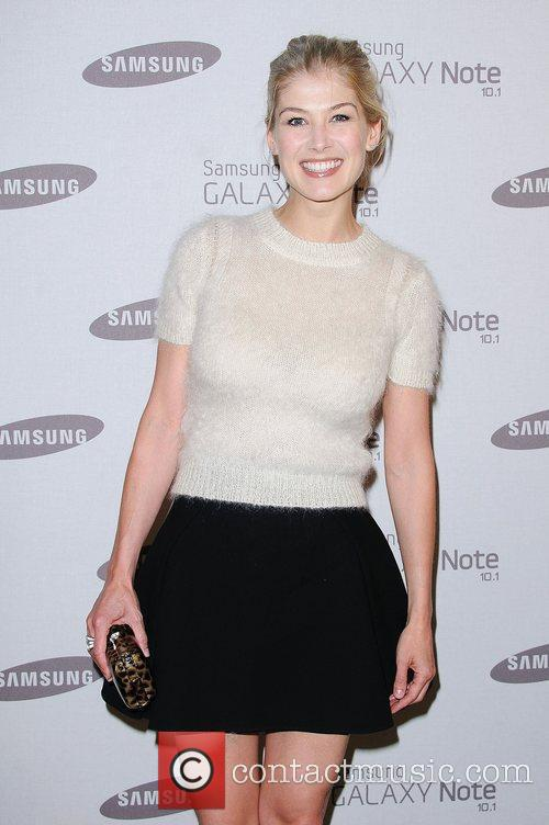 Rosamund Pyke Samsung celebrate the launch of the...