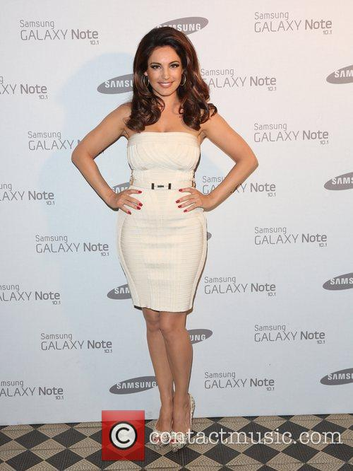 Kelly Brook Samsung celebrate the launch of the...