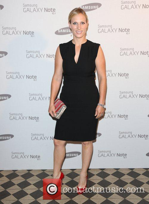 Zara Phillips Samsung celebrate the launch of the...