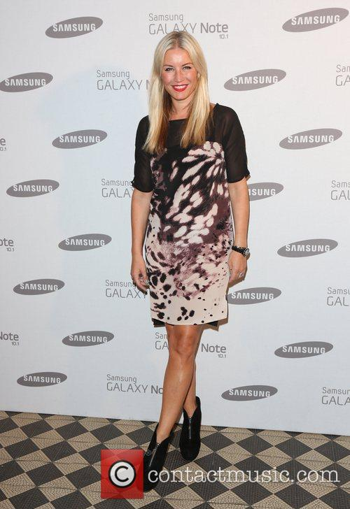 Denise Van Outen Samsung celebrate the launch of...
