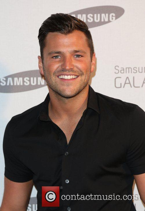 Mark Wright Samsung celebrate the launch of the...