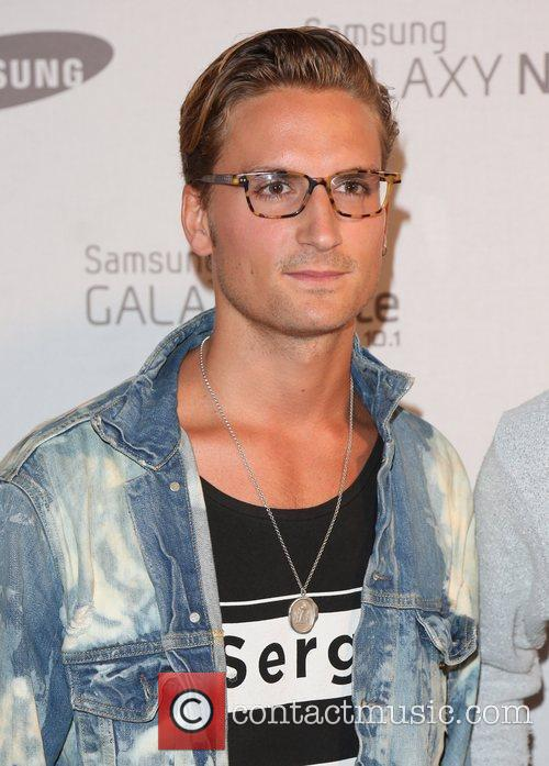 Oliver Proudlock Samsung celebrate the launch of the...