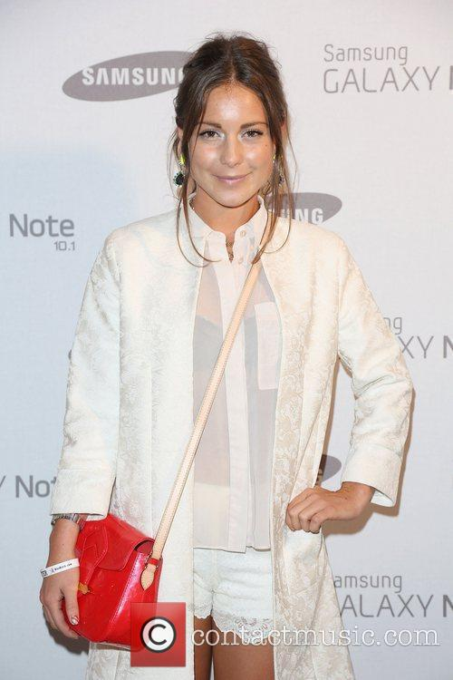 Louise Thompson Samsung celebrate the launch of the...