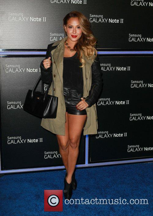 adrienne bailon samsung mobile launch party for 4146208