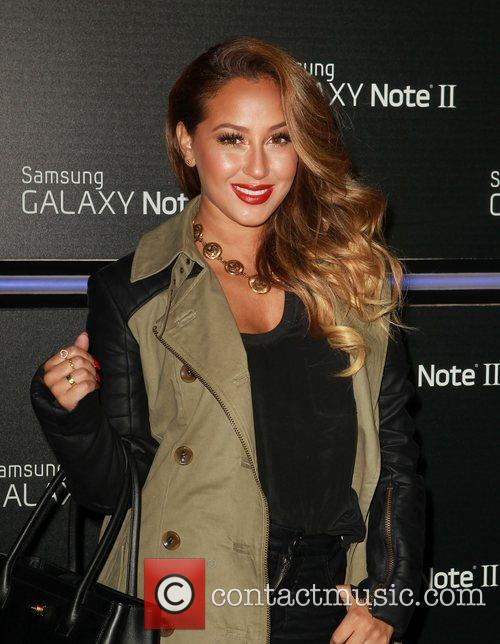 adrienne bailon samsung mobile launch party for 4146259