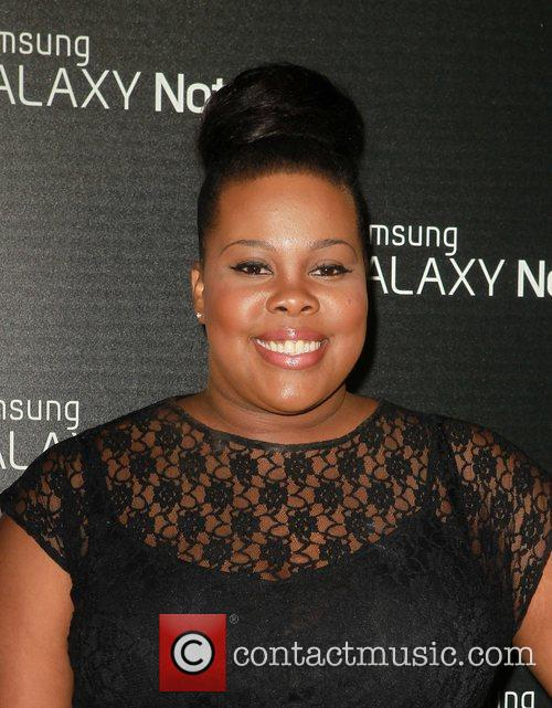 Amber Riley  Samsung Mobile Launch Party For...