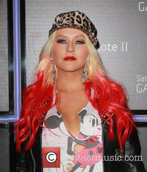 Christina Aguilera  Samsung Mobile Launch Party For...