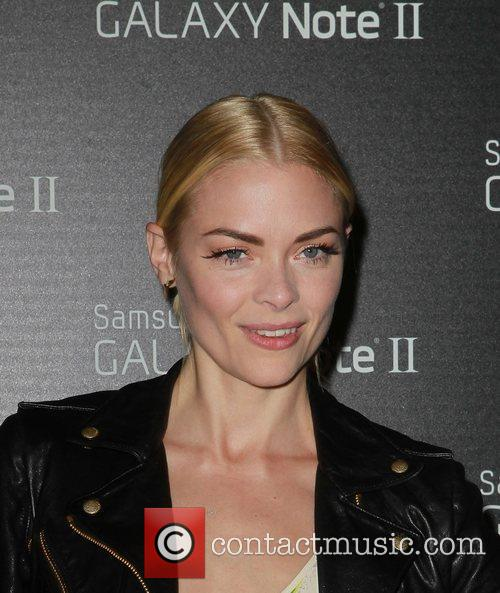 Jaime King  Samsung Mobile Launch Party For...