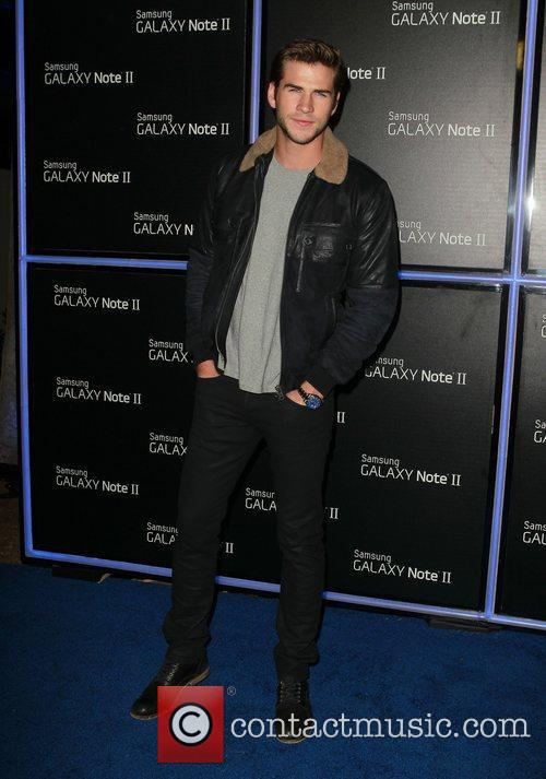 Liam Hemsworth  Samsung Mobile Launch Party For...
