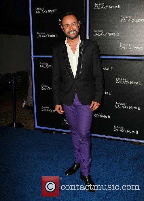 Nick Verreos  Samsung Mobile Launch Party For...