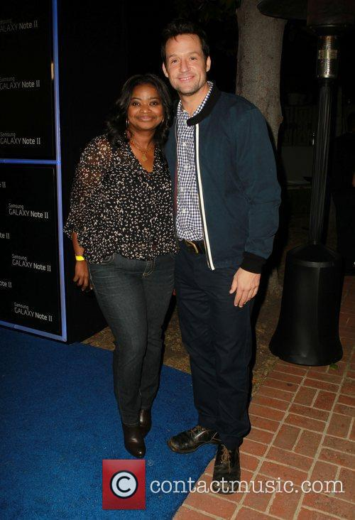 Octavia Spencer and Josh Hopkins 7