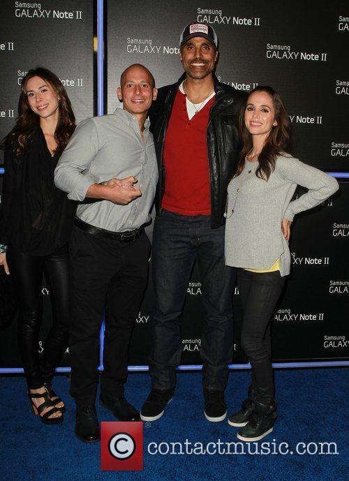 rick fox eliza dushku samsung mobile launch 4146172
