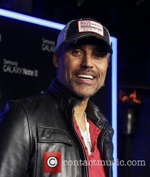 Rick Fox  Samsung Mobile Launch Party For...