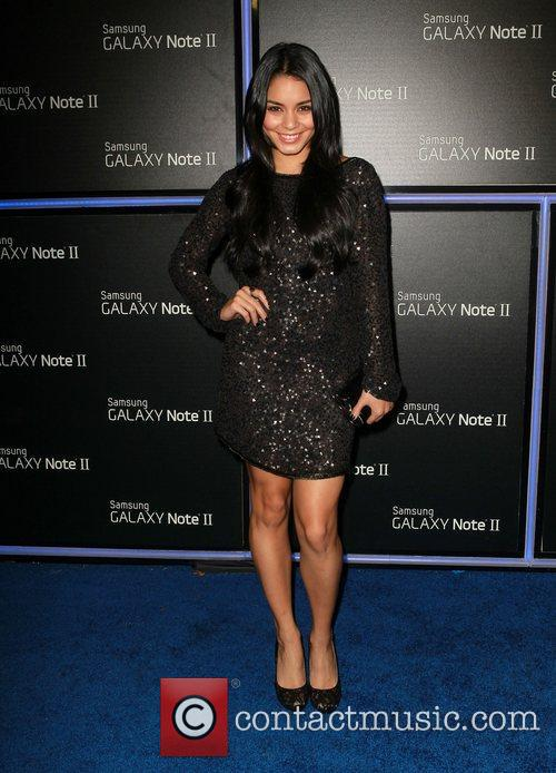 Vanessa Hudgens  Samsung Mobile Launch Party For...
