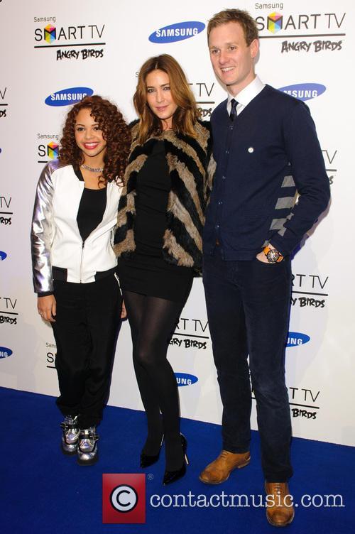 Alexis Jordan, Lisa Snowdon and Dan Walker 4