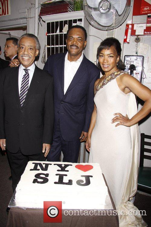 Al Sharpton, Angela Bassett and Samuel L Jackson 4