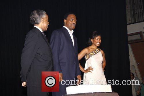 Al Sharpton, Angela Bassett and Samuel L Jackson 3